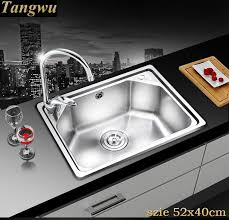 Cheap Stainless Steel Sinks Kitchen by Online Get Cheap Stainless Steel Sinks Kitchen Aliexpress Com