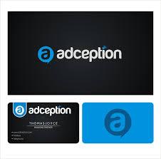 ã karten design new logo and business card for adception by highlanders logo