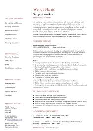 resume example for disability support worker resume ixiplay free