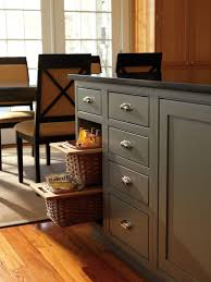 Kitchen Cabinet Pull Out Baskets Riveting Pull Out Base Cabinet Drawers With Wicker Basket Pull Out