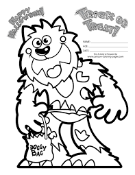 scary halloween mask coloring pages