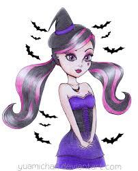 happy halloween draculaura monster high by yuami chan on