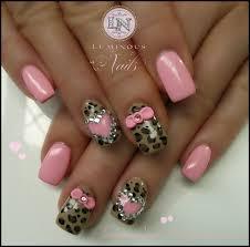leopard print fake nail designs 2015 best nails design ideas