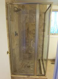 Frosted Glass Shower Door by Framed U0026 Semi Frameless Shower Door King Shower Door Installations