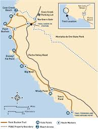 Pg E Power Outage Map Hike Point Buchon Trail On The California Coastline