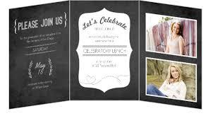 Tri Fold Wedding Invitations Template Tri Fold Graduation Invitations Badbrya Com