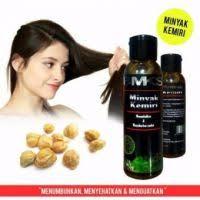 Sho Bmks show bmks minyak kemiri penyubur dan penghitam rambut bpom 100ml