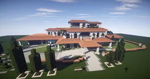 epic italian villa huge mansion creative mode minecraft