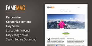 famemag u2013 free minimalist blogger template for news u0026 magazine
