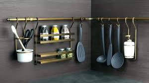 barre de rangement cuisine barre d accroche cuisine barre ustensiles cuisine barre de rangement