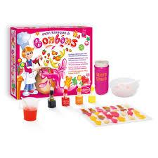 jeu cuisine enfant ma fabrique à bonbons sentosphère pour enfant dès 7 ans oxybul