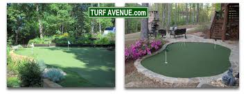technology built in to our artificial putting greens at turf avenue