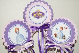 items similar to sofia the first centerpiece set of 3 on etsy