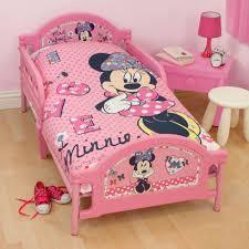 toddler bed minnie mouse bedding set for kids plans bedroom