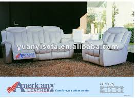 Leather Reclining Sofa Sets White Leather Recliner Sofa Set Bonners Furniture
