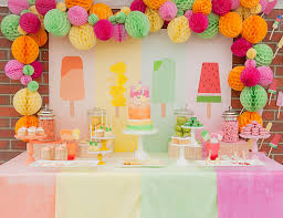 how to decorate birthday table indoor and outdoor birthday party decorations birthday party planner