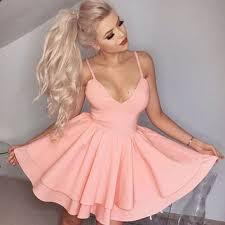 light pink graduation dresses shop simple short homecoming dresses on wanelo