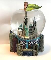 new york city snow globe 2 5 inch 45mm skylines statue of