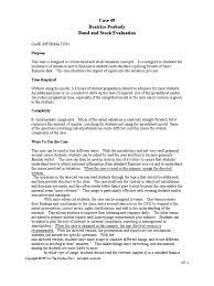 Time Study Spreadsheet Beatrice Peabody Case Bonds Finance Yield Finance