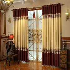 Window Curtains Design Cotton And Linen Materials Luxury Window Curtains Designs