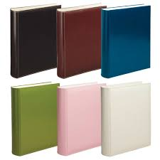 binder photo album gainsborough leather 4 ring binder album organisers