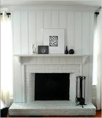 Frugal Home Decorating Blogs Elegant Fireplace With Brick Walls Home Design Fascinating White