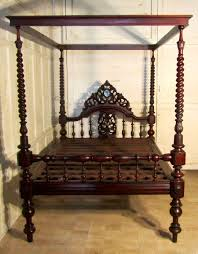 colonial style beds exceptional quality colonial style carved mahogany 4 poster double
