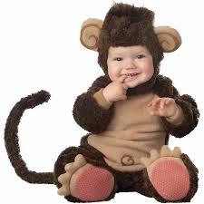 Born Halloween Costume Lil U0027 Monkey Elite Collection Infant Halloween Costume Walmart