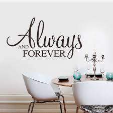 Home Decor Vinyl Wall Art by Online Get Cheap Forever Wall Art Aliexpress Com Alibaba Group