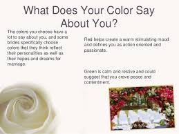 how to choose wedding colors how to choose and use the right wedding colors