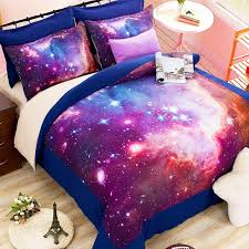 Space Bed Set 2 3 4pcs Galaxy 3d Bedding Sets Universe Outer Space