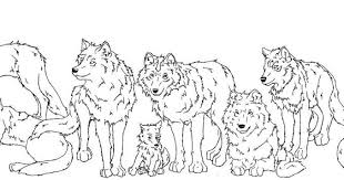 Wolf Pack Coloring Pages Wolf Pack Coloring Pages Funycoloring Wolf Pack Coloring Pages