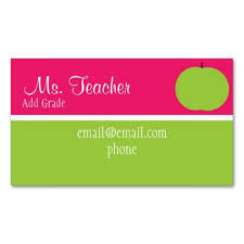 281 best teacher business cards images on pinterest searching