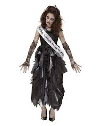 Zombie Halloween Costumes Party Girls Zombie Prom Queen Costume Partycity Halloween Party