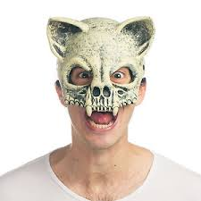 Mad Max Halloween Costume Cat Skull Mask Wasteland Mad Max Apocalypse Costume Scary Fossil