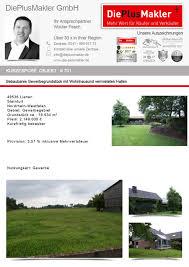 Objekt Kaufen 701 Grundstück Kaufen Lienen Grundstücksverkauf Grundstückskauf