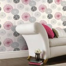 grey wallpaper with red flowers b q lucienne charcoal pink wallpaper image 2 house stuff
