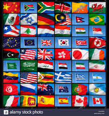 World National Flags With Names Flags Around The World Emaps World