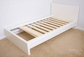 ikea malm bed frame hack diy before and after ikea hack malm bed armelle blog