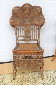 rare heywood wakefield wicker chair at 1stdibs
