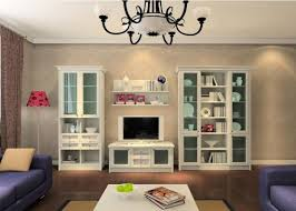 living room display cabinet design painted and glazed interior