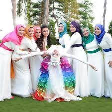 muslim bridesmaid hijab u2013 girls hijab style u0026 hijab fashion ideas