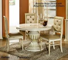 versace dining room table versace greek key design rossella biege gold round dining table 4