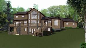 house plans with daylight basements decor remarkable ranch house plans with walkout basement for home