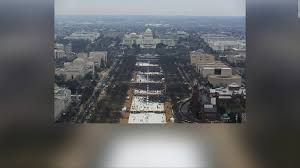 picture of inauguration crowd nps releases photos of crowd size at obama trump inaugurations