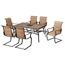 Hampton Bay Patio Dining Set - hampton bay 7 piece outdoor dining set for 299