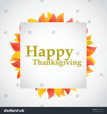 image happy thanksgiving happy thanksgiving autumn leaves sign illustration stock vector