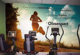 wall murals for gyms leisure centre wallpaper wallsauce norway gym and leisure centre wall murals