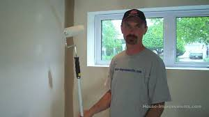 how to apply primer to new drywall walls youtube