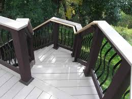 100 composite decking material creating the perfect trex